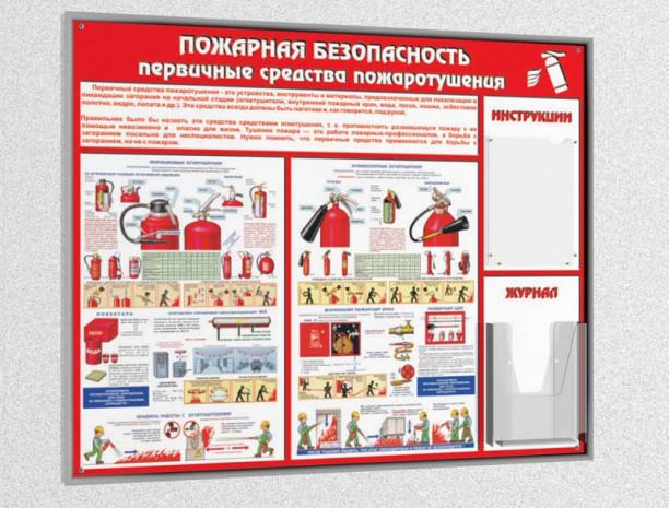 Информационный пожарный стенд