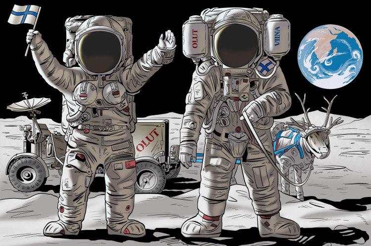 Тантамареска - астронавты
